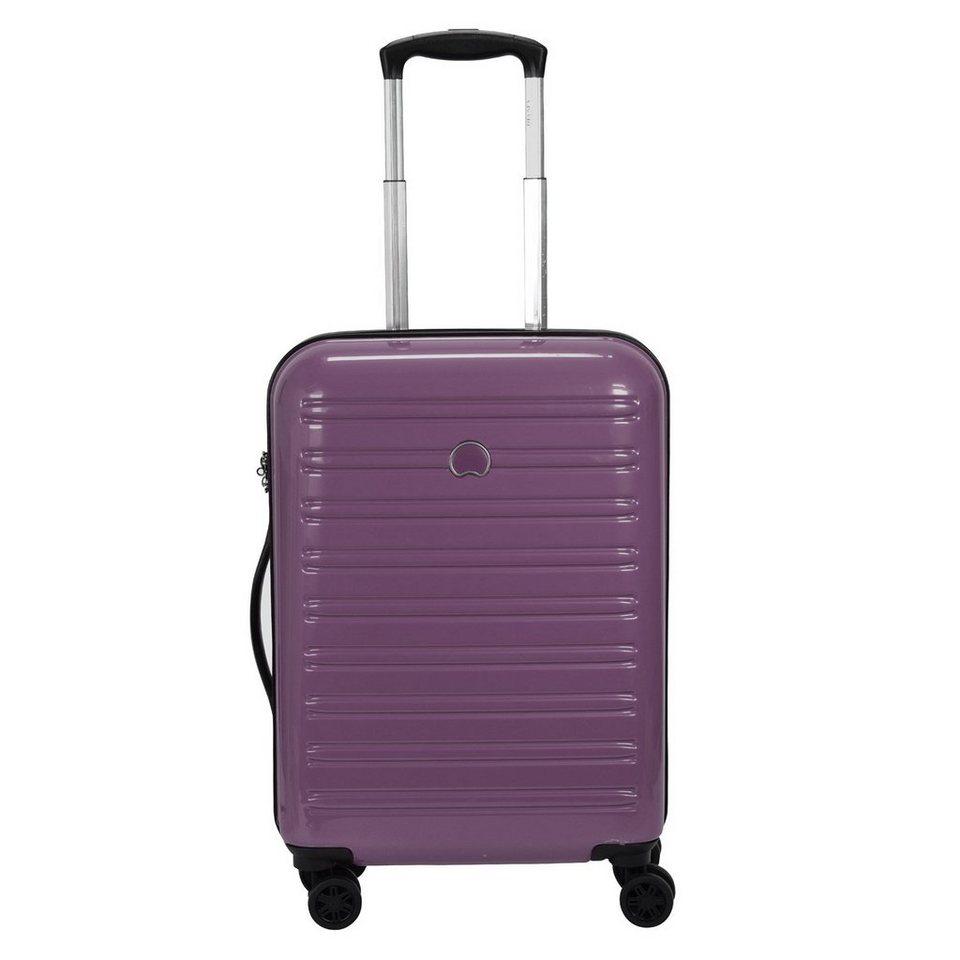 Delsey Segur 4-Rollen Kabinentrolley 55 cm in purple