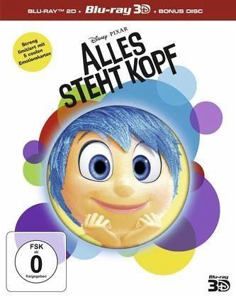 Blu-ray »Alles steht Kopf (Blu-ray 3D, Limited Edition,...«