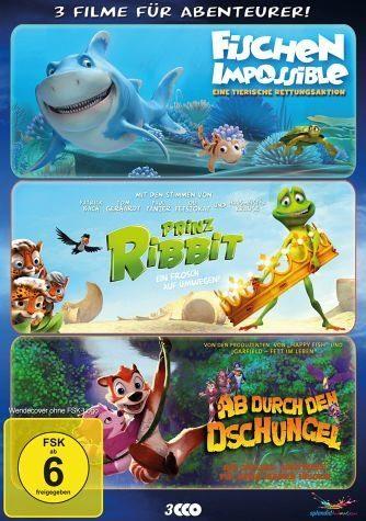 DVD »Abenteurer Box (3 Discs)«