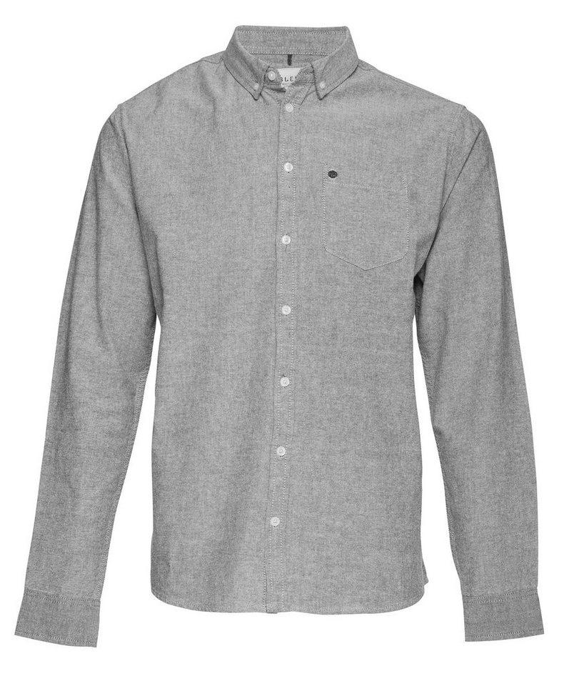 Blend Hemden in Grau