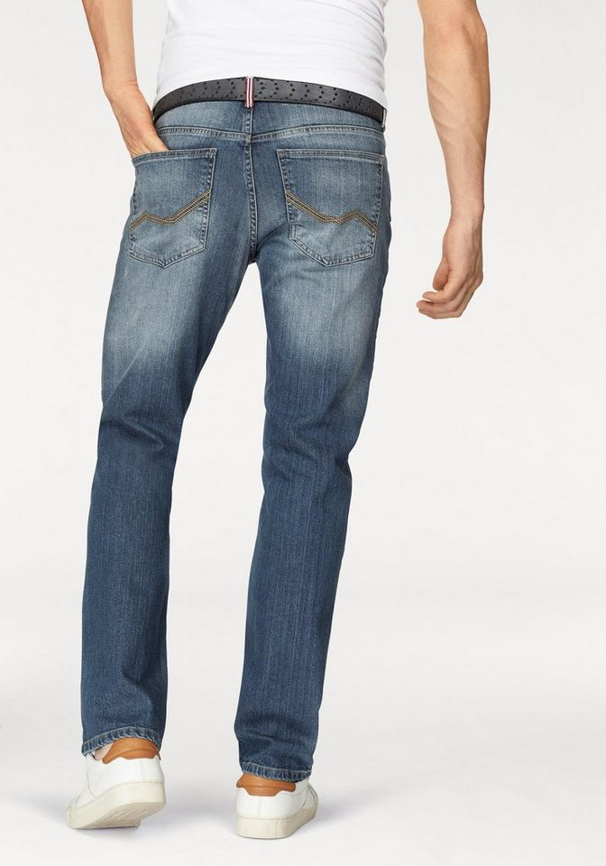 Rhode Island Stretch-Jeans »Reed« in blue-used