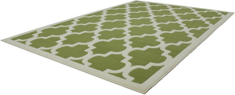Teppich, Kayoom, »Manolya 2097«, gewebt in Grün