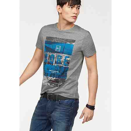 Jack & Jones T-Shirt mit urbanem Fotoprint