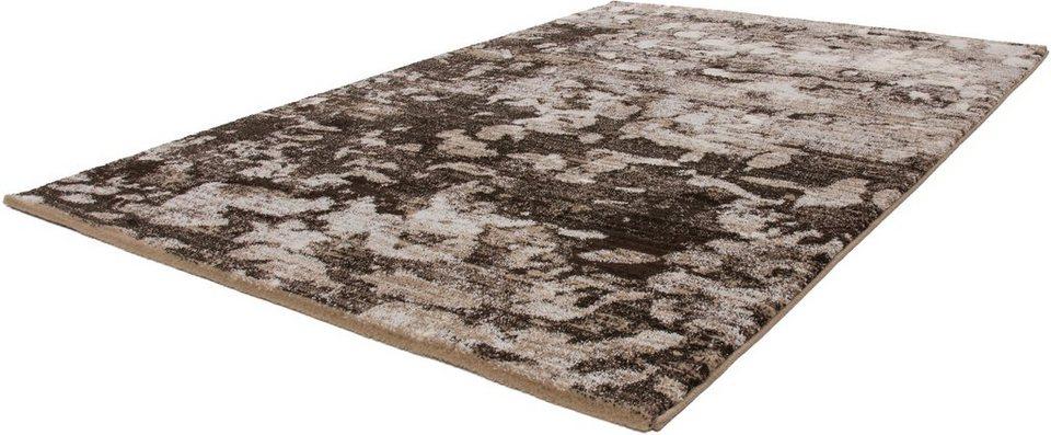 Hochflor-Teppich, Kayoom, »Jupiter 369«, Höhe 25 mm, gewebt in Sand