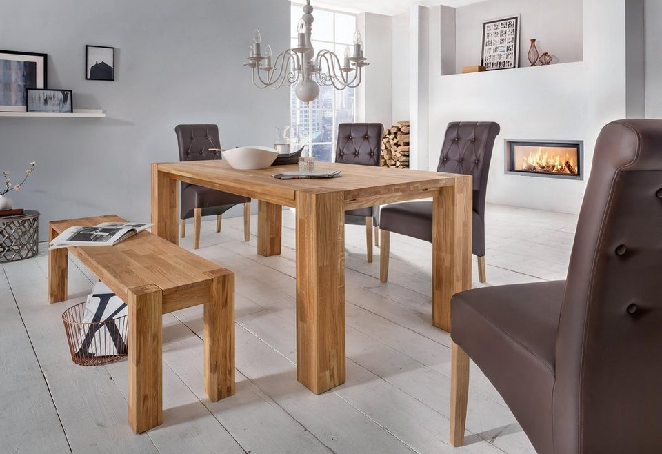 esstisch premium collection by home affaire big oak in 3 breiten online kaufen otto. Black Bedroom Furniture Sets. Home Design Ideas