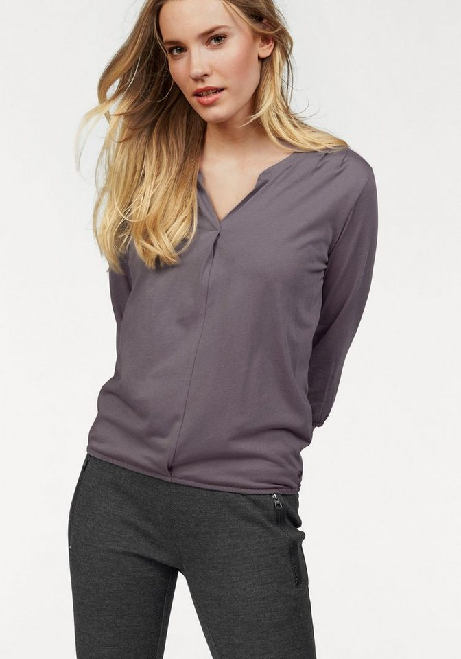 Marc O'Polo Shirtbluse in helllila