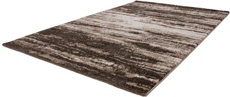 Hochflor-Teppich, Kayoom, »Jupiter 322«, Höhe 25 mm, gewebt in Sand