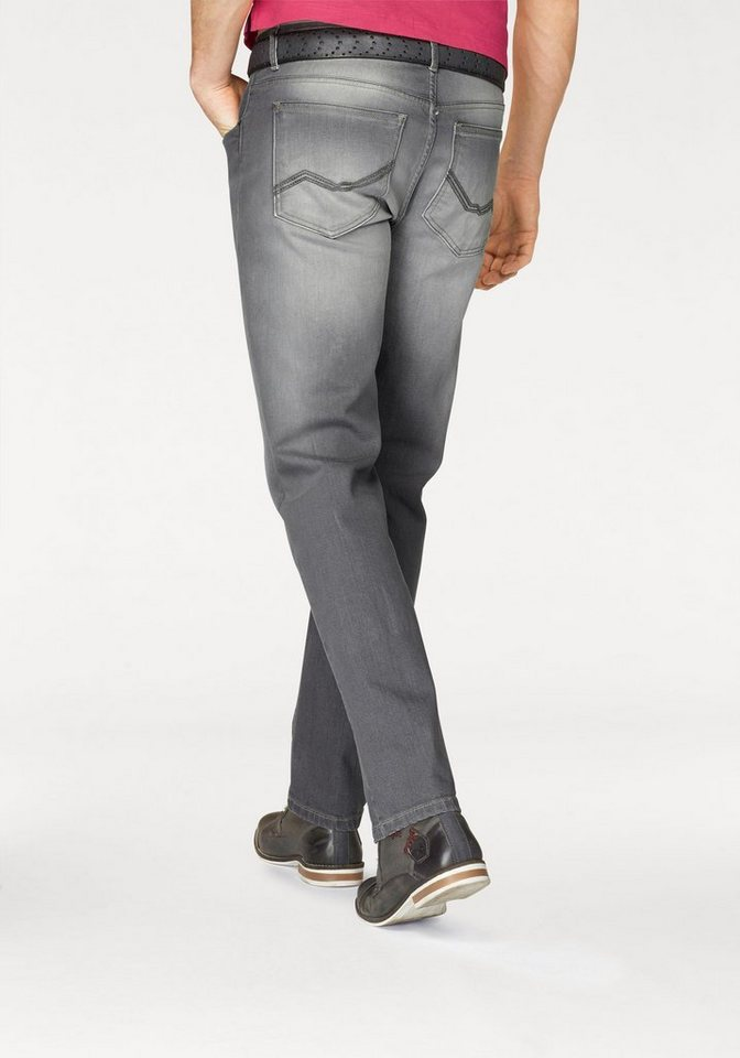 Rhode Island Stretch-Jeans »Reed« in grey-used