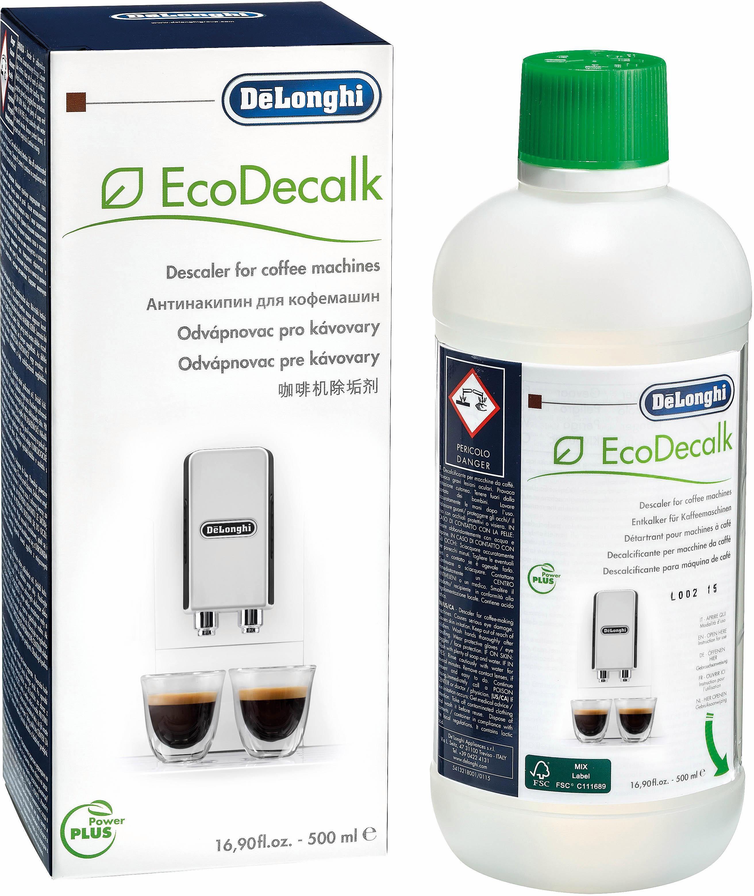 De'Longhi »SER3018 EcoDecalk« Entkalker (Kalklöser für Kaffeevollautomat und Espressomaschine)