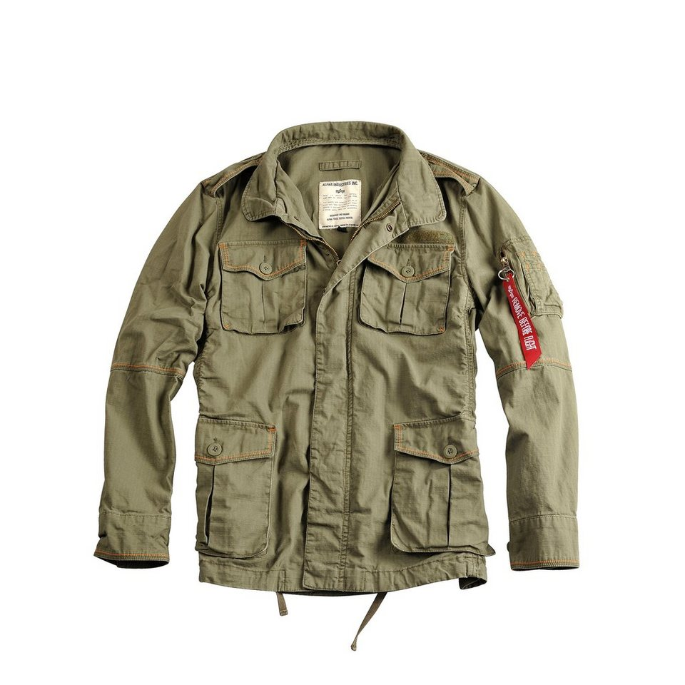 ALPHA INDUSTRIES Jacke »Portland« in olive