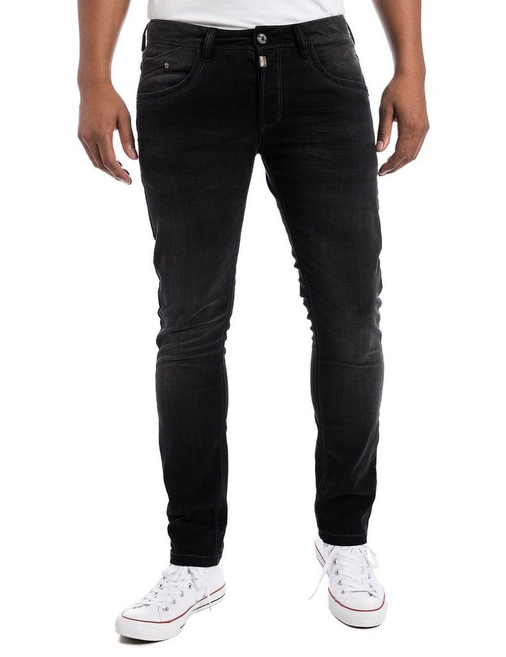 "TIMEZONE Jeans »CostelloTZ ""9188 black soft wash""« in black soft wash"