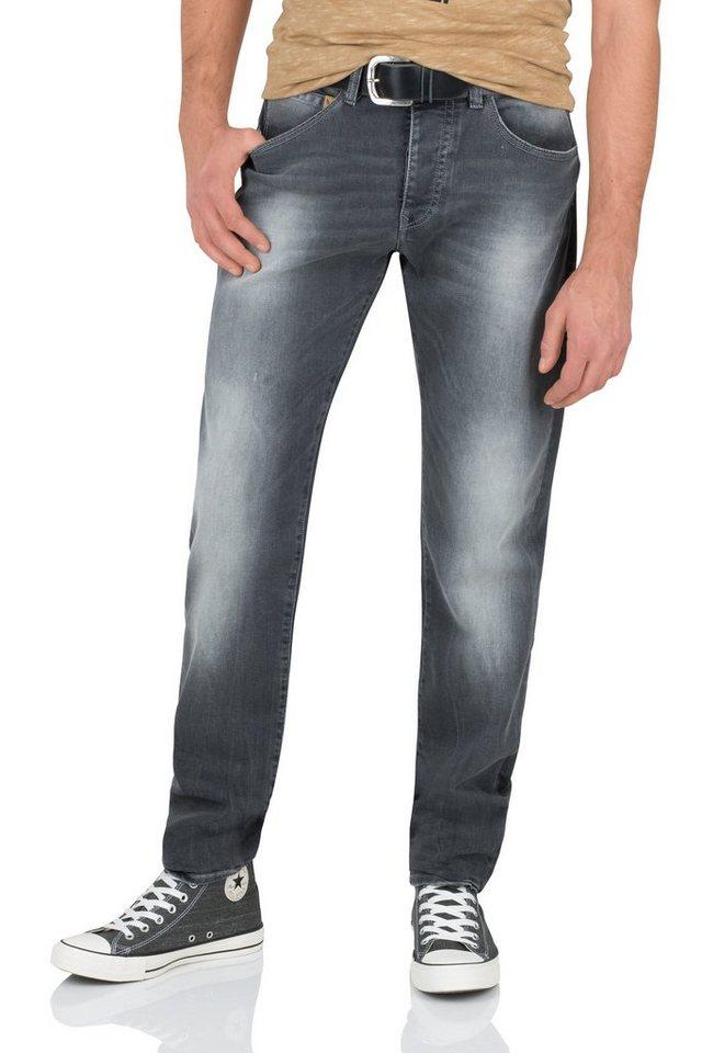 NAGANO Jeans »CHONAN« in charcoal