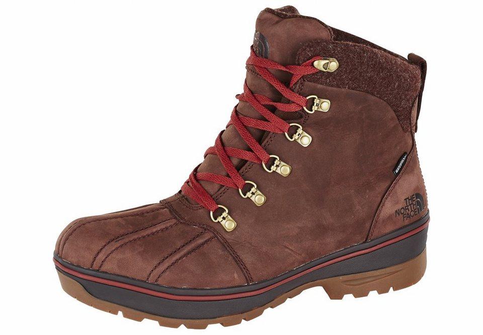 The North Face Stiefel »Ballard Duck Boot Men rum brown/brick house red« in braun