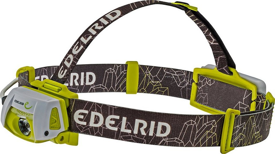 Edelrid Camping-Beleuchtung »Tauri Headlamp snow-oasis« in schwarz