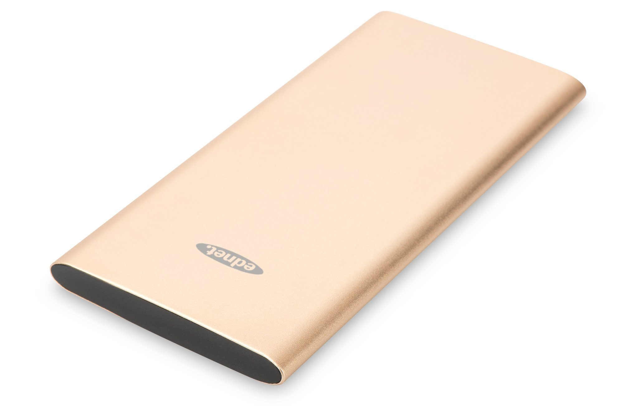 Ednet Powerbank »Ednet Slim Line Aluminium Power Bank gold«