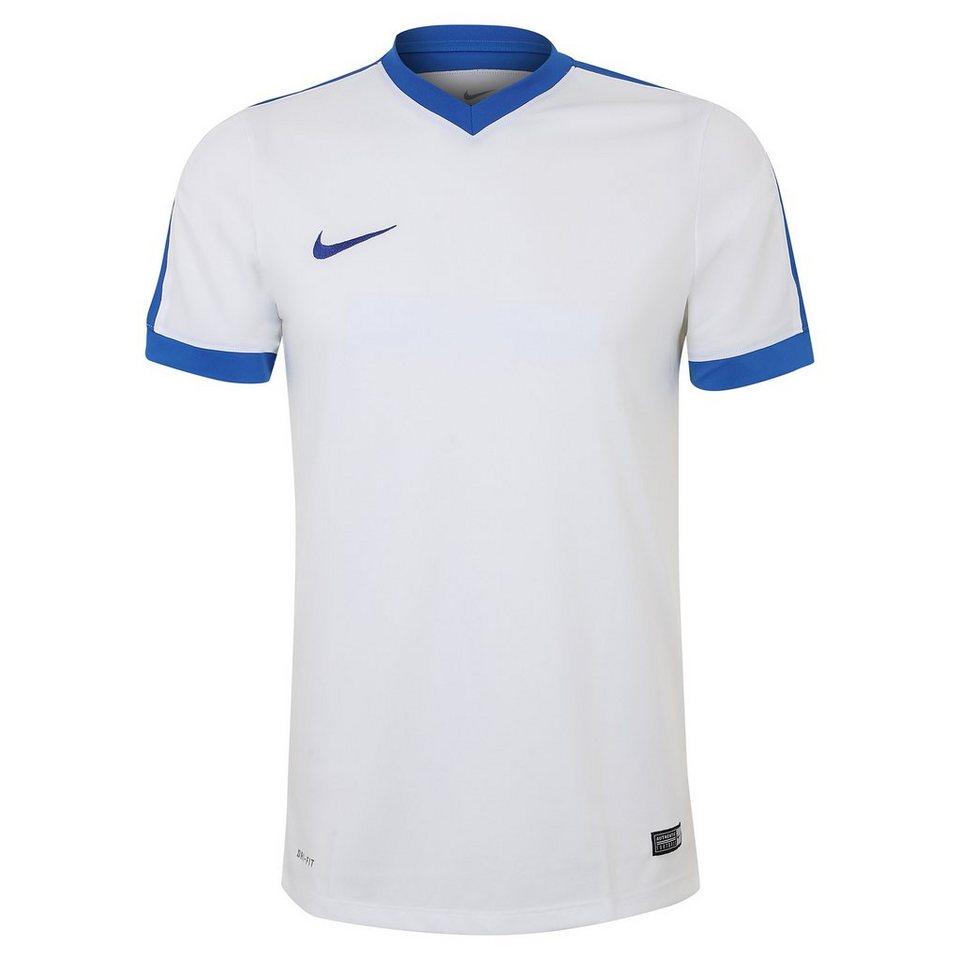 NIKE Striker IV Fußballtrikot Herren in weiß / blau