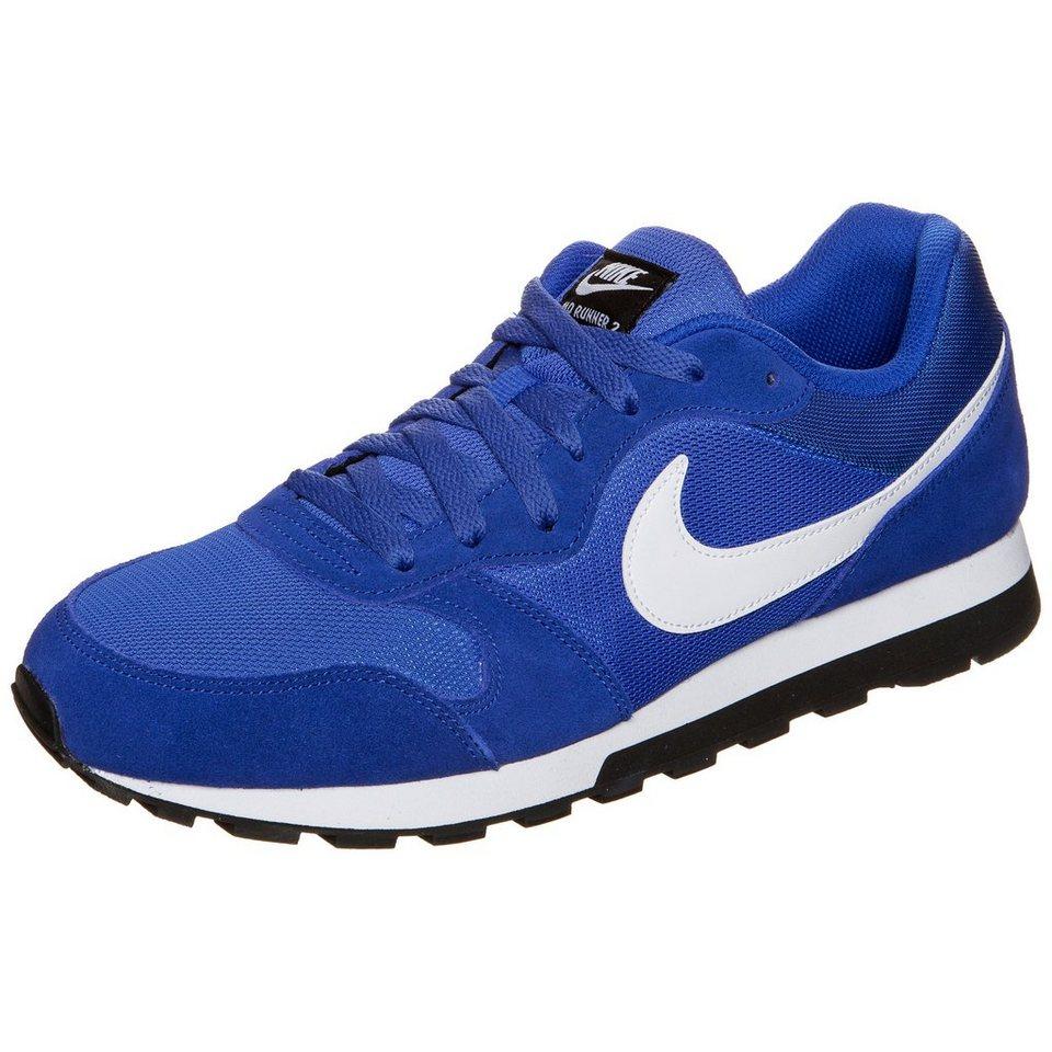 Nike Sportswear MD Runner 2 Sneaker Herren in blau / weiß