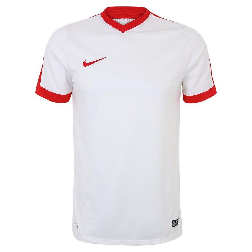 NIKE Striker IV Fußballtrikot Herren in weiß / rot