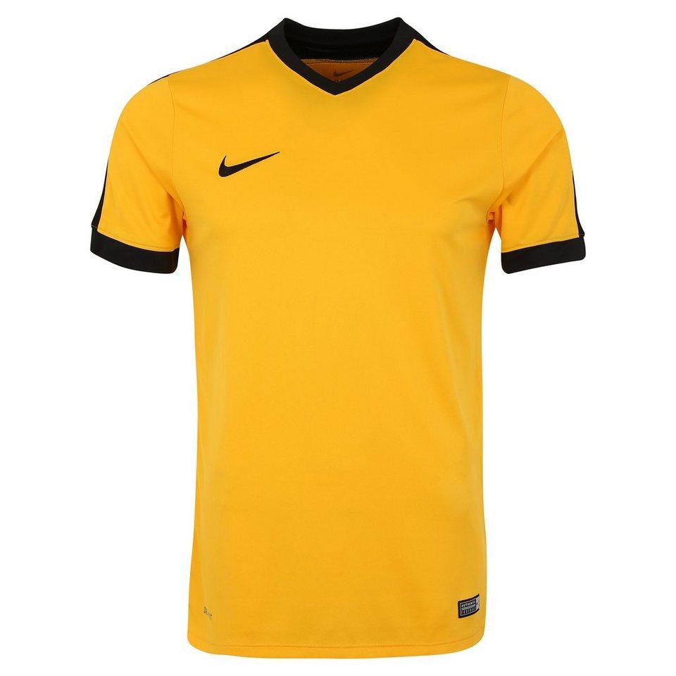 NIKE Striker IV Fußballtrikot Herren in gold / schwarz