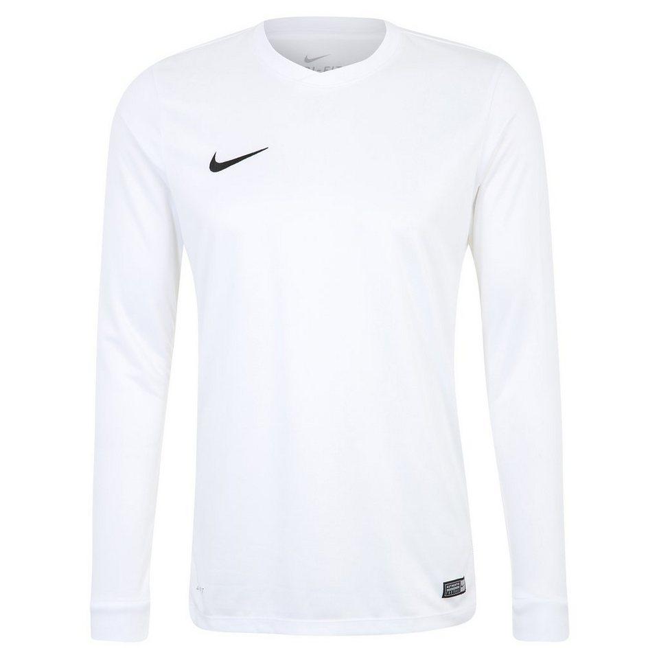 NIKE Park VI Fußballtrikot Herren in weiß / schwarz