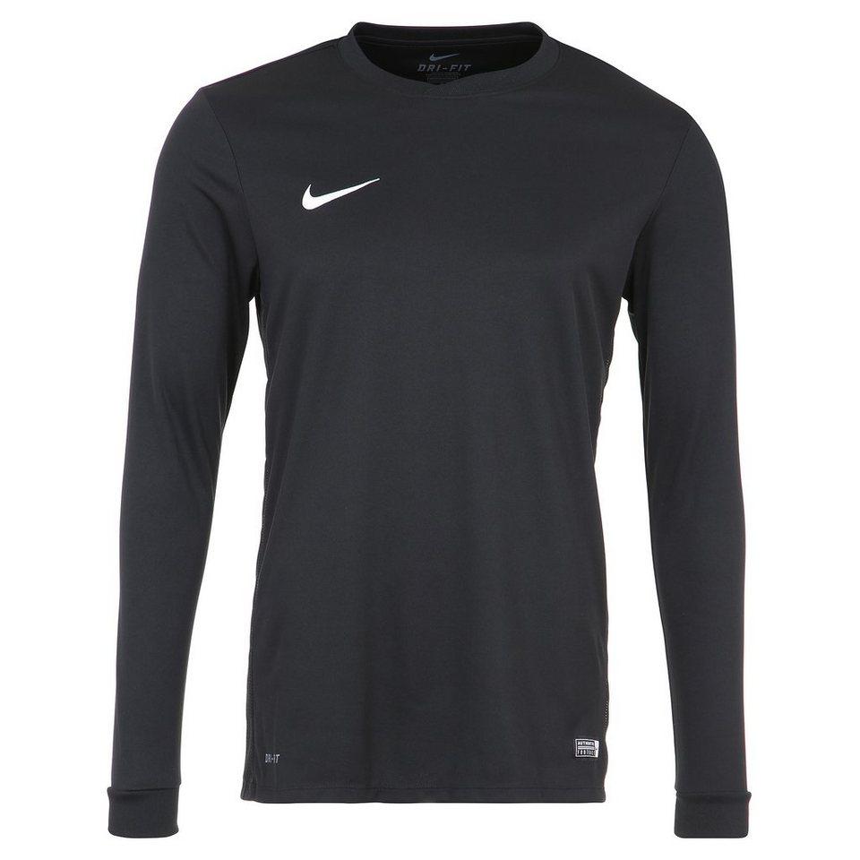 NIKE Park VI Fußballtrikot Herren in schwarz / weiß