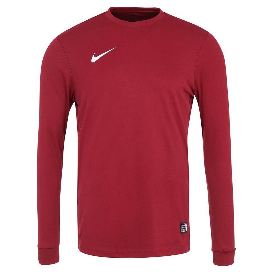 NIKE Park VI Fußballtrikot Herren in rot / weiß