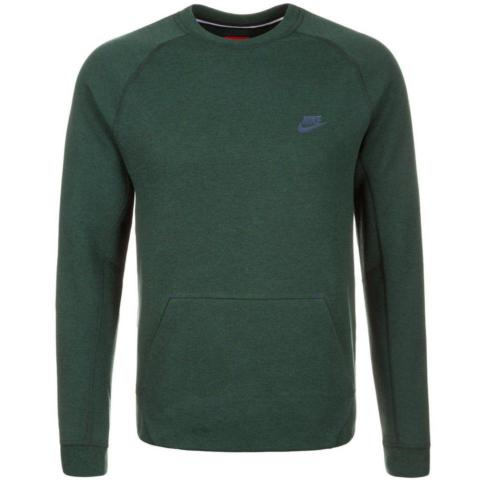Nike Sportswear Tech Fleece Crew Sweatshirt Herren in grün / blau
