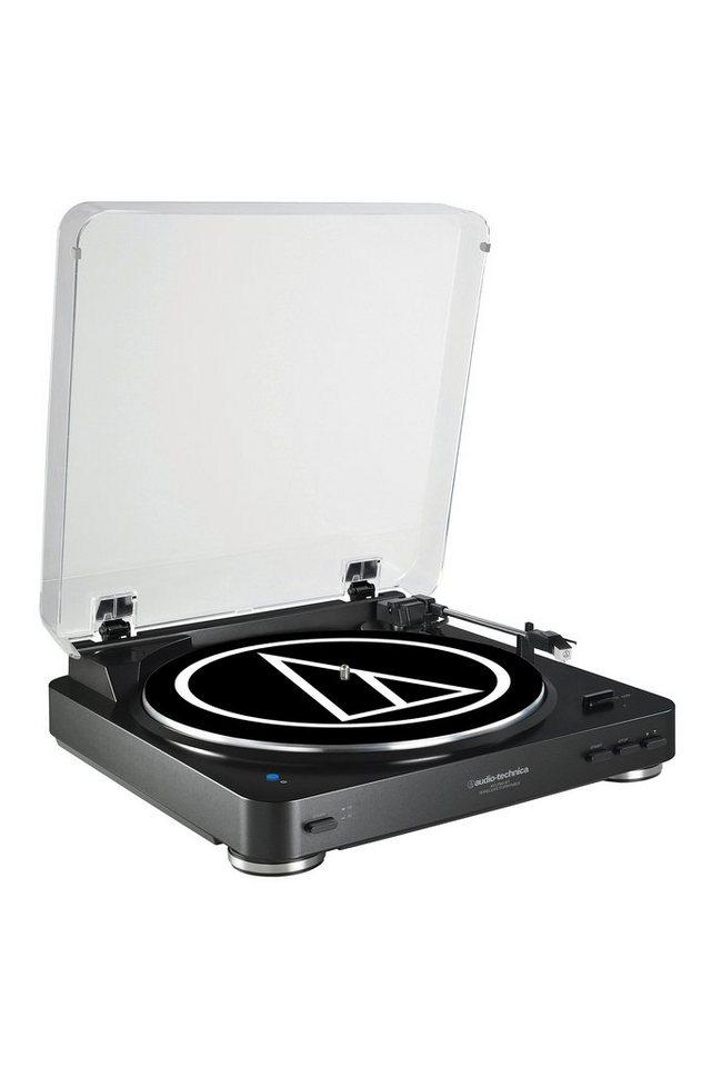 Audio-Technica Plattenspieler mit Bluetooth »AT-LP60BT« in schwarz