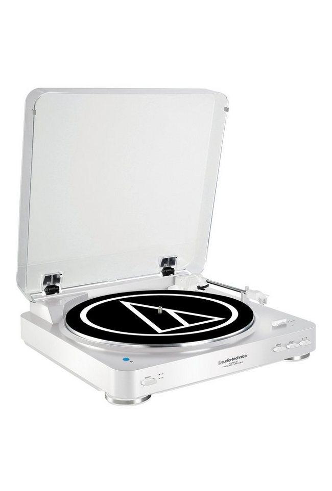Audio-Technica Plattenspieler mit Bluetooth »AT-LP60BT« in weiss
