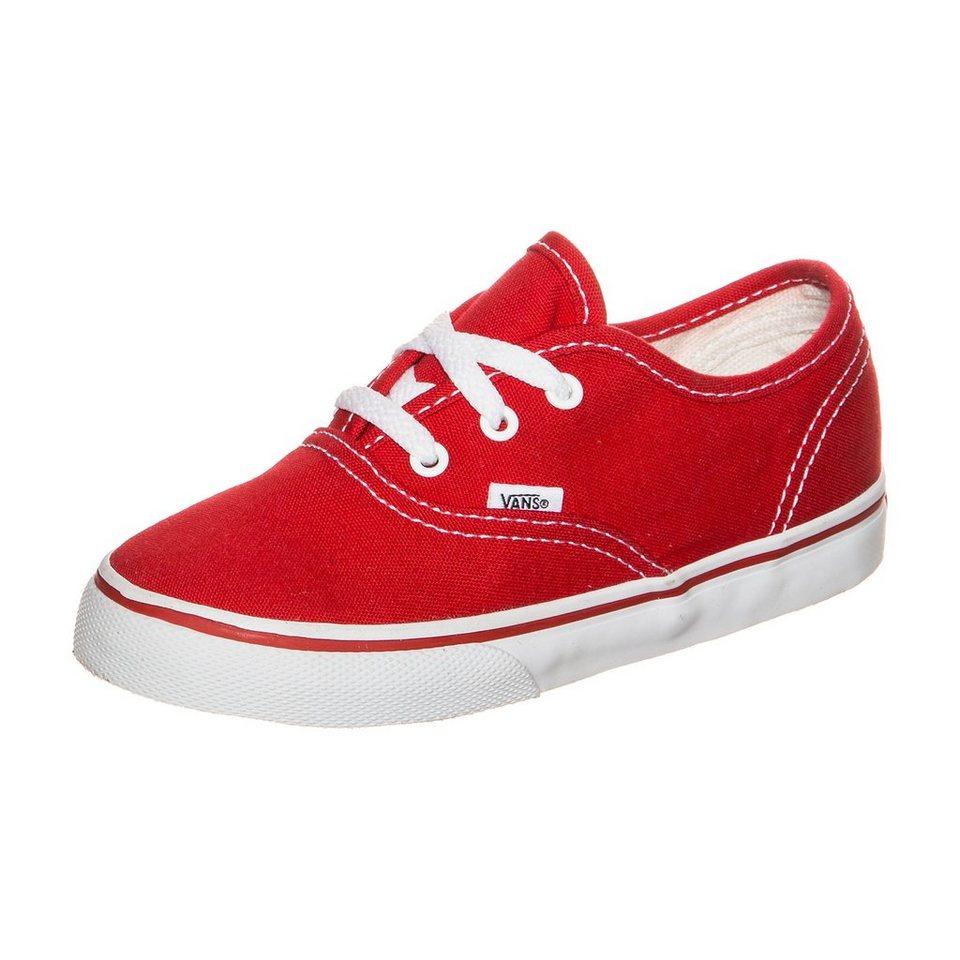VANS Authentic Sneaker Kleinkinder in rot / weiß
