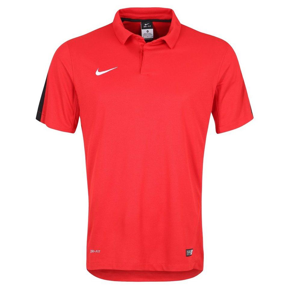 NIKE Squad 15 Sideline Poloshirt Herren in rot / schwarz