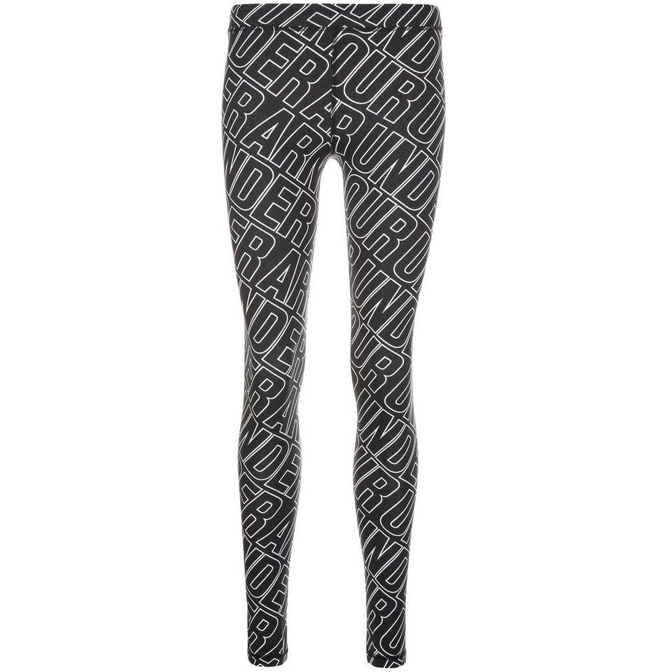 Under Armour® HeatGear Favorite Allover Trainingstight Damen in schwarz / weiß