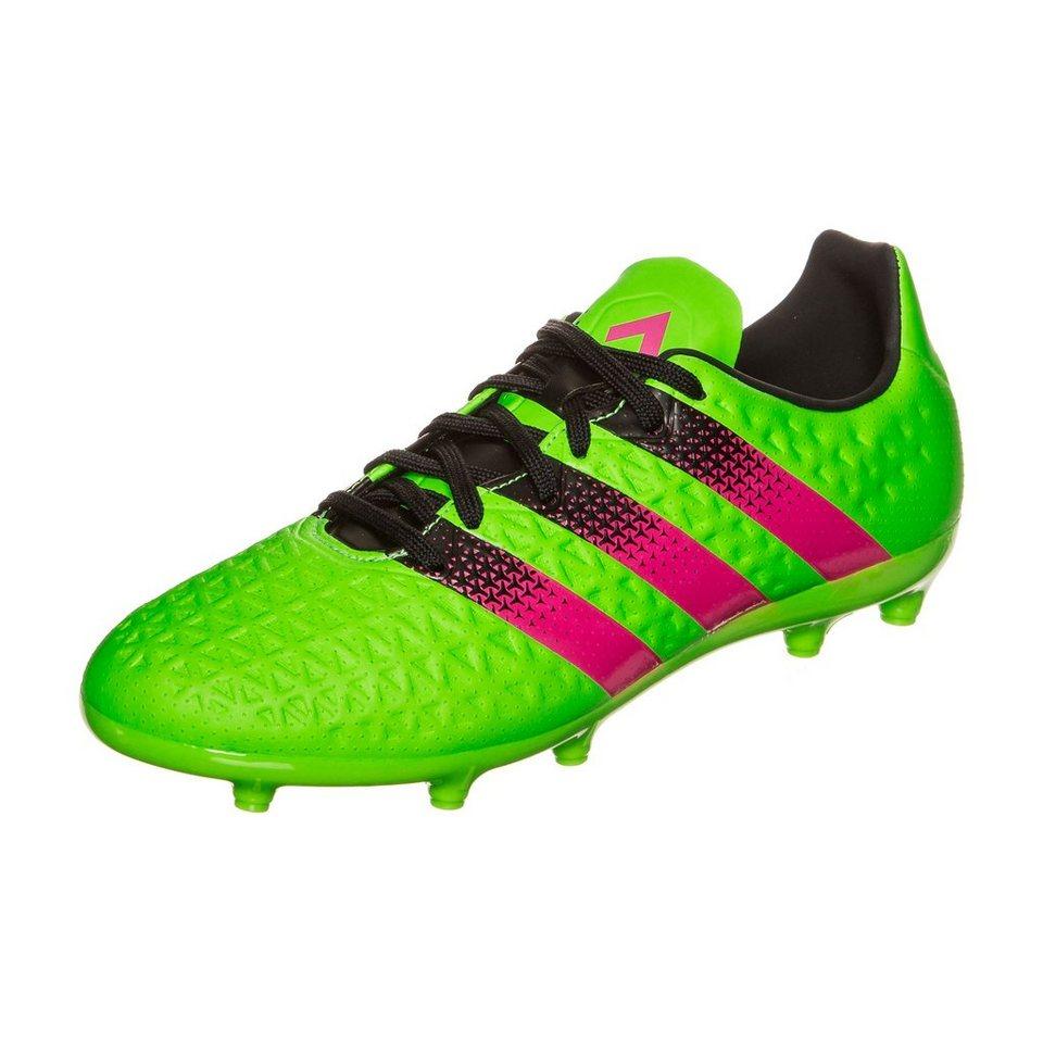 adidas Performance ACE 16.3 FG/AG Fußballschuh Kinder in grün / pink