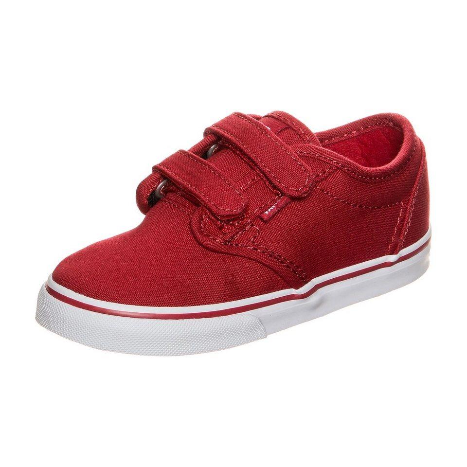 VANS Atwood V Sneaker Kleinkinder in rot / weiß