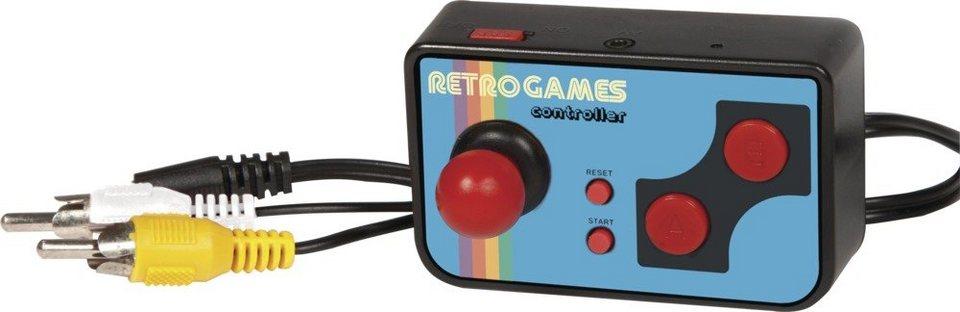 Thumbs Up Mini Konsole inkl. 200 Retro Spielen »Mini TV Games« in schwarz