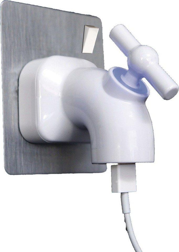 Thumbs Up Ladekabel im Wasserhahn-Design »Power Tap« in weiß
