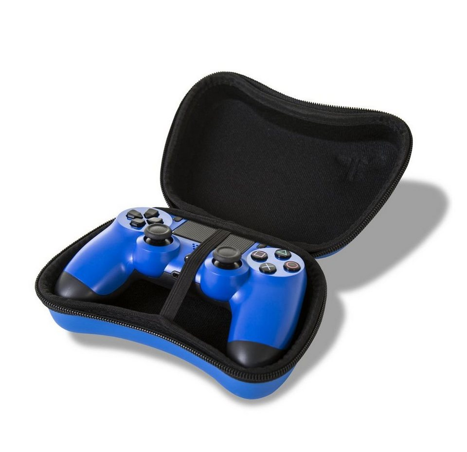 4gamers playstation 4 zubeh r ps4 controller h lle blau online kaufen otto. Black Bedroom Furniture Sets. Home Design Ideas