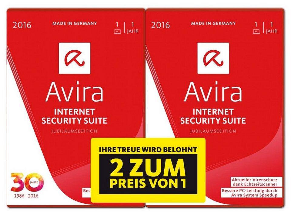 Avira Software »Avira Internet Security Suite 2016 - 1+1 Special«
