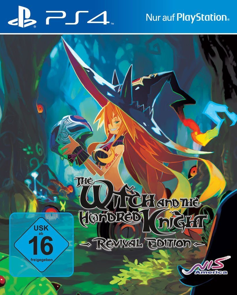 NIS Playstation 4 - Spiel »The Witch and the Hundred Knight: Revival Edition«