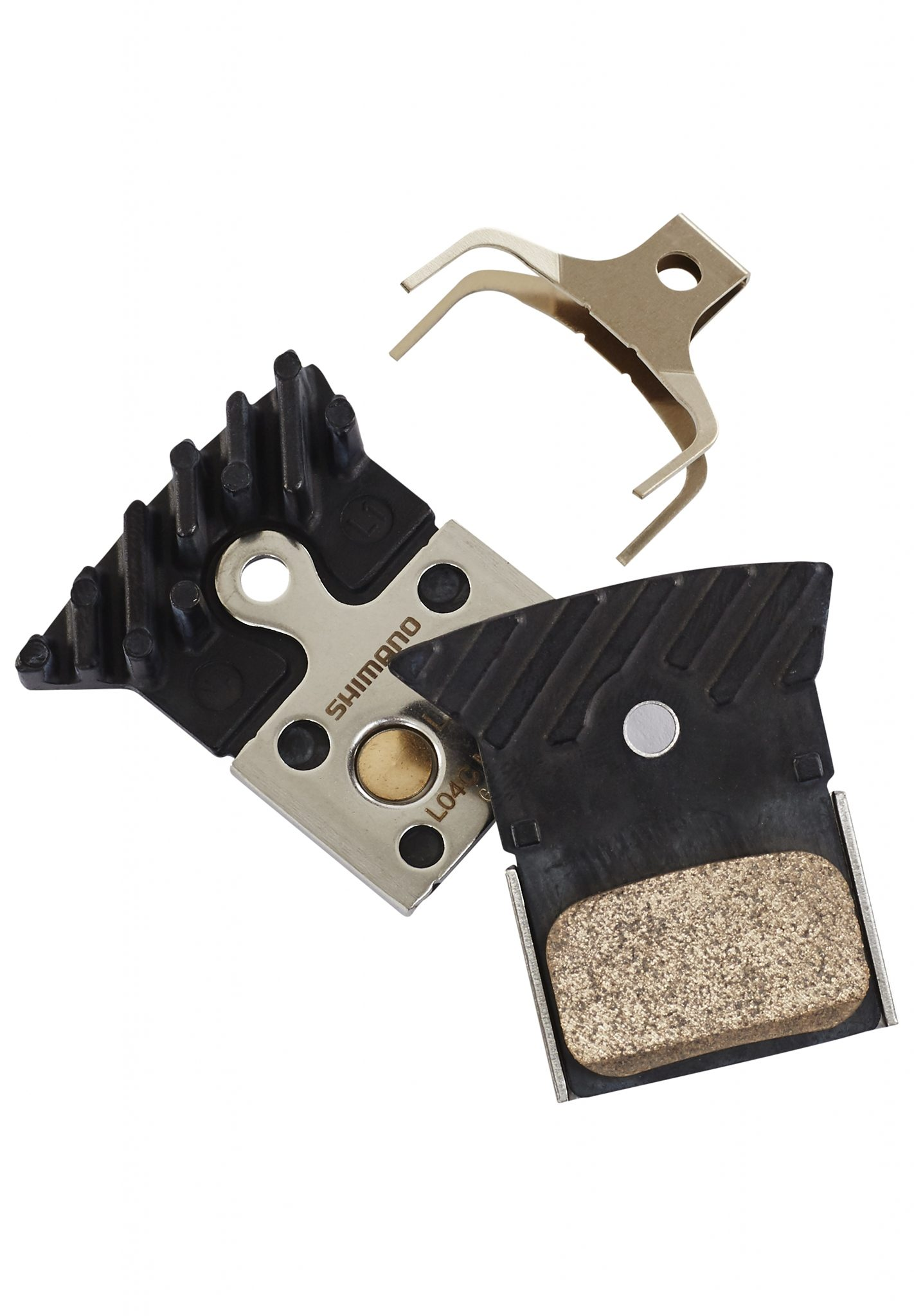 Shimano Bremsbelag »L04C Bremsbelag Metall mit Kühlrippen«