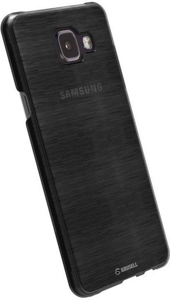 Krusell Handytasche »HardCover Boden für Samsung Galaxy, Klar« in Schwarz-Transparent