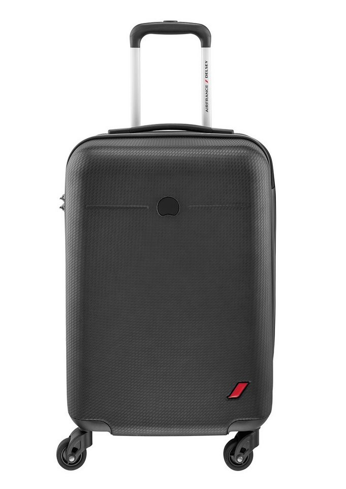 DELSEY Hartschalen Trolley Air France Edition mit 4 Rollen, »Envol« in schwarz