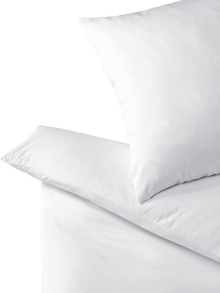 Bettwäsche in weiß