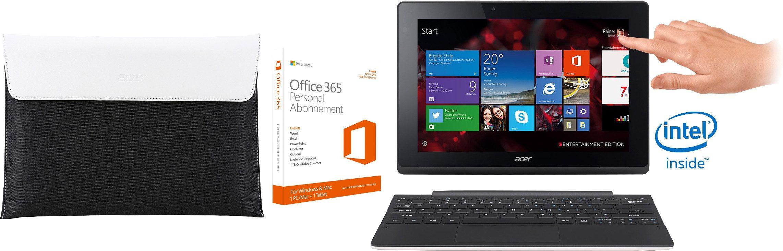 Acer Aspire Switch 10 E Convertible Notebook, Intel® Atom™, 25,6 cm (10,1 Zoll), 32 GB Speicher