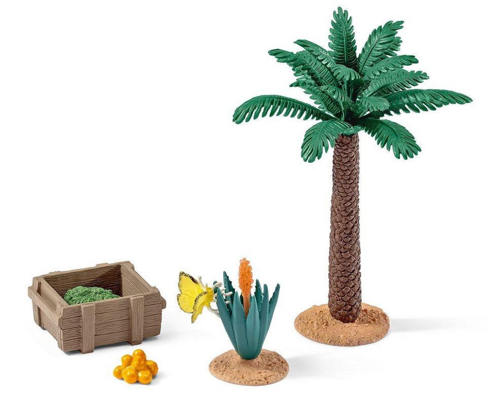 Schleich® Spielfiguren-Set, »World of Nature Wild Life - Pflanzen und Futter Set«