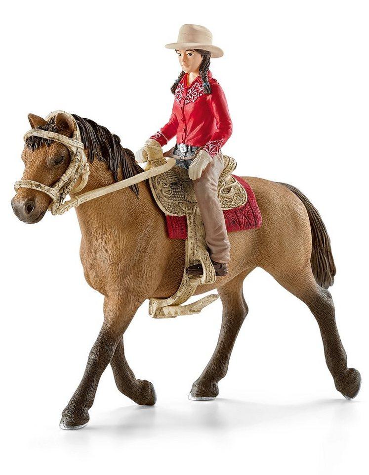 Schleich® Spielfigur, »Horse Club - Westernreiterin«