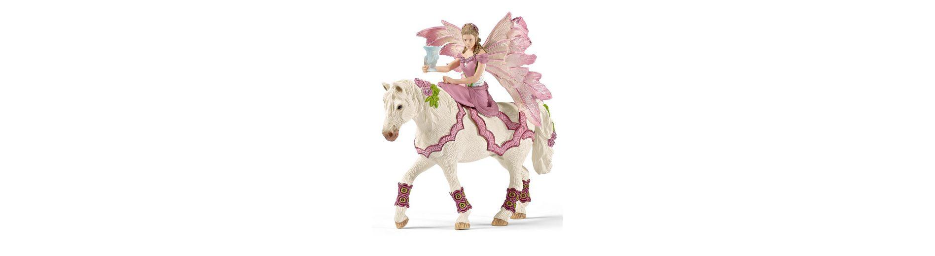 Schleich® Spielfigur, »World of Fantasy bayala - Feya in festlicher Kleidung, reitend«