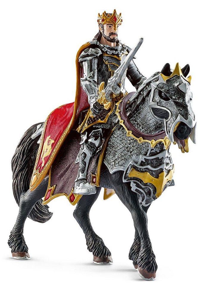 Schleich® Spielfiguren Set (70115), »Eldrador, bayala-Drachenritter König Omborok zu Pfer