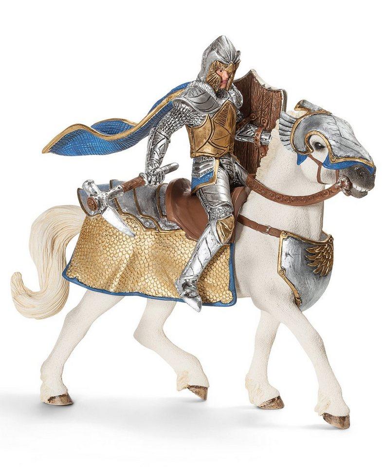 Schleich® Spielfigur, »Eldrador - Greifenritter Zorlay zu Pferd mit Schnabelwaffe