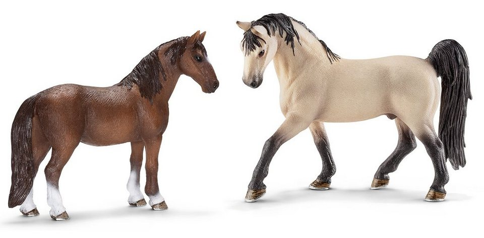 Schleich® Spielfiguren-Set, »Horse Club - Tennessee Walker« (2tlg.)